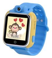 Часы Smart Baby Watch GPS Tiroki Q100 (GW1000) голубые